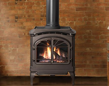 Heat & Glo Tiara Free Standing Gas Vent Stove