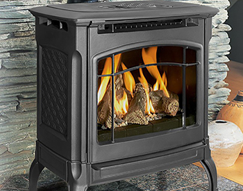 Hearthstone Champlain Free Standing Gas Vented Stove