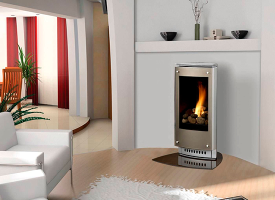 Freestanding Direct Vent Gas Free Standing Stove