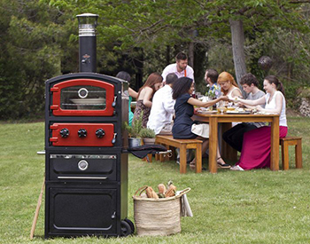 Wood Fired Smoker Oven