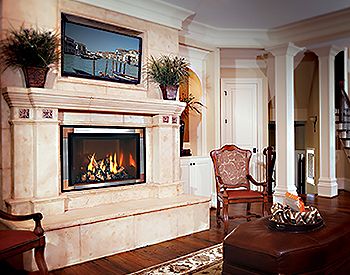 Mendota FV44i Gas Vented Fireplace Insert