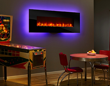 Heat & Glo Electric SimpliFire70 Wall Mount Fireplace