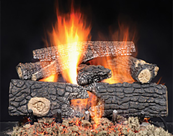 Heat & Glo Real Wood Gas Logs