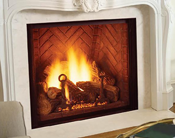 Majestic Marquis Gas Vented Log Set
