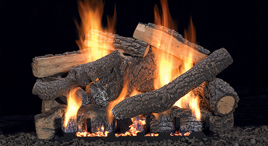 Vent Free Gas Log Set