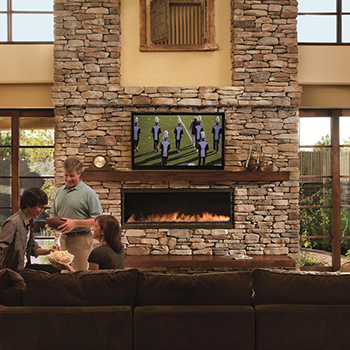 fireplaces stone contracting brown natural cultured ltd cranbrook fireplace rock format dog