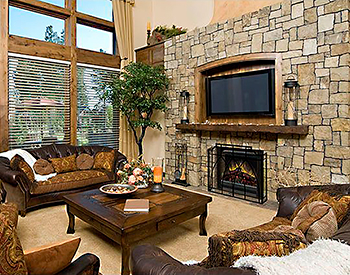 Dimplex Electric Fireplace Insert 2 Sided Built In