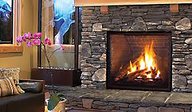 Enviro Q4 Gas Vented Fireplace