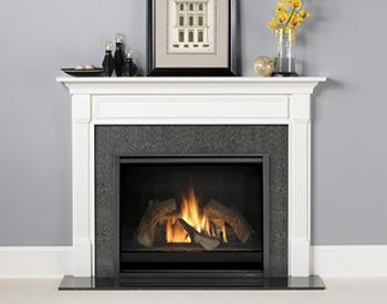 Heat & Glo Wood Mantel