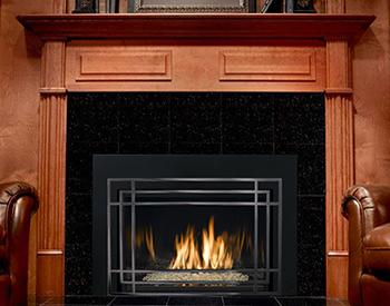 Mendota FV44i Mod Stella Gas Vented Fireplace Insert