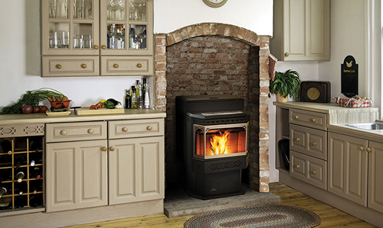 Pellet Burning Fireplace Inserts Long Island Main Street Stove ...