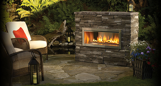 Regency Hzo42 A Outdoor Fireplace
