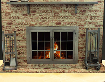 Stoll Fireplace Doors