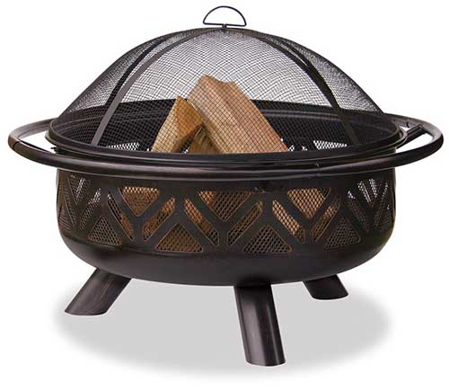 Blue Rhino Wood Firepit