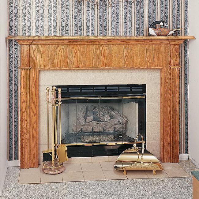 REGGIO Fireplace Mantel