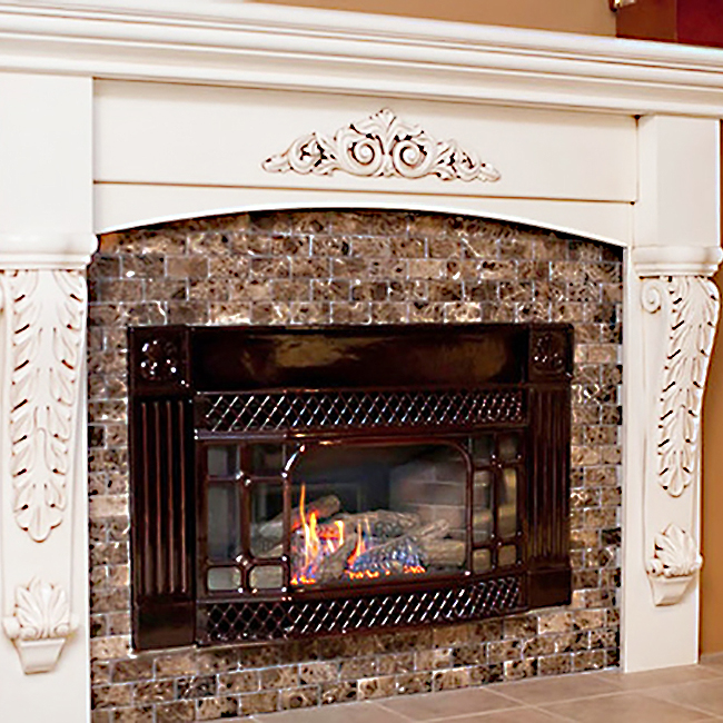 Francesc Fireplace Mantel
