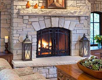 Stoll Fireplace Door